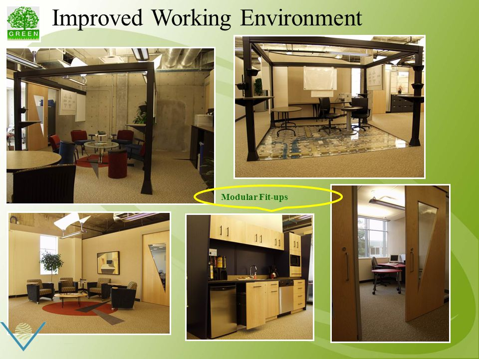 Improved Working Environment Modular Fit-ups