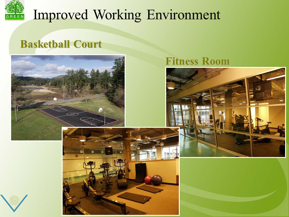 Improved Working Environment Basketball Court Basketball Court Fitness Room