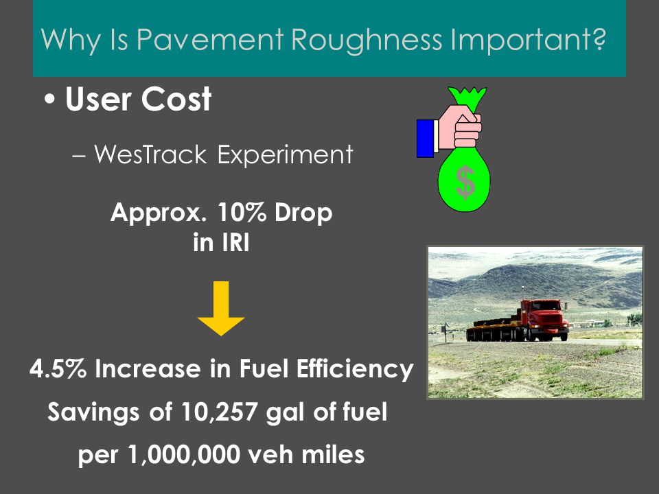 Why Is Pavement Roughness Important.