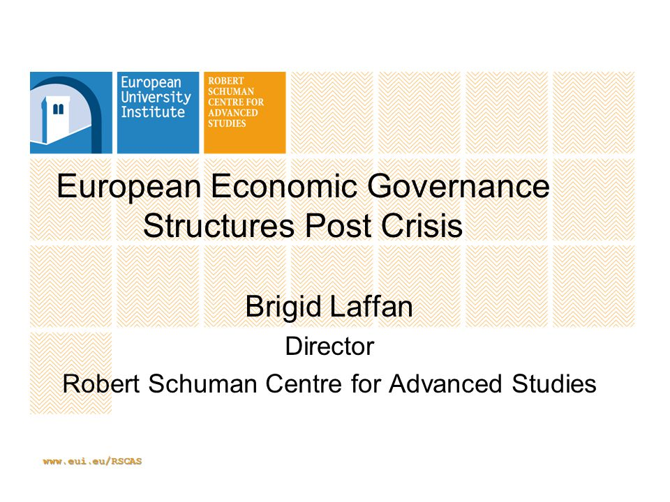 www.eui.eu/RSCAS CRISIS Crises are open moments -system changing and system creating
