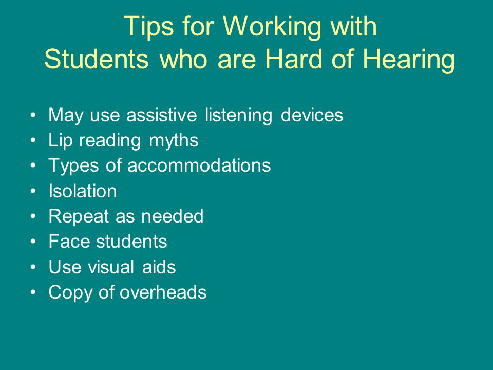 Tips for Working with Students with Psychiatric Disabilities All students must abide by student code of conduct Myths surrounding students with psychiatric disabilities Safe haven Emergency protocols