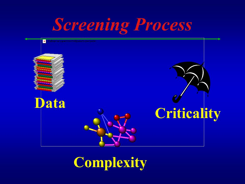 Screening Process Complexity Data Criticality