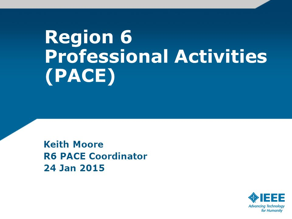 What is PACE.