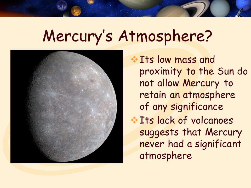 Mercury's Atmosphere.