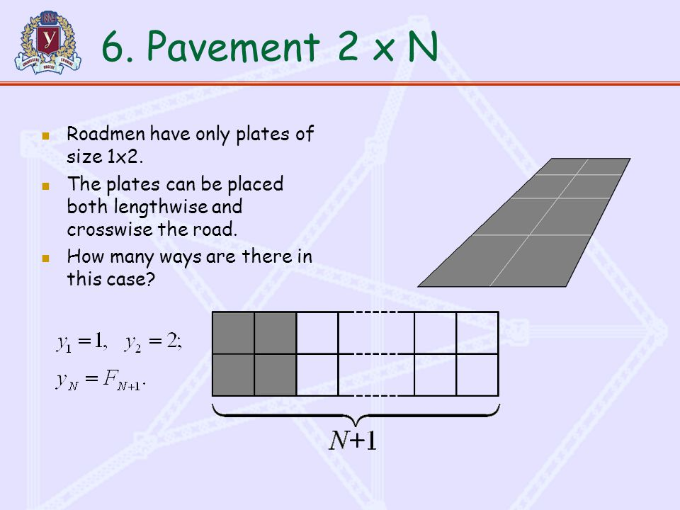 6. Pavement Roadmen have only plates of size 1x2.