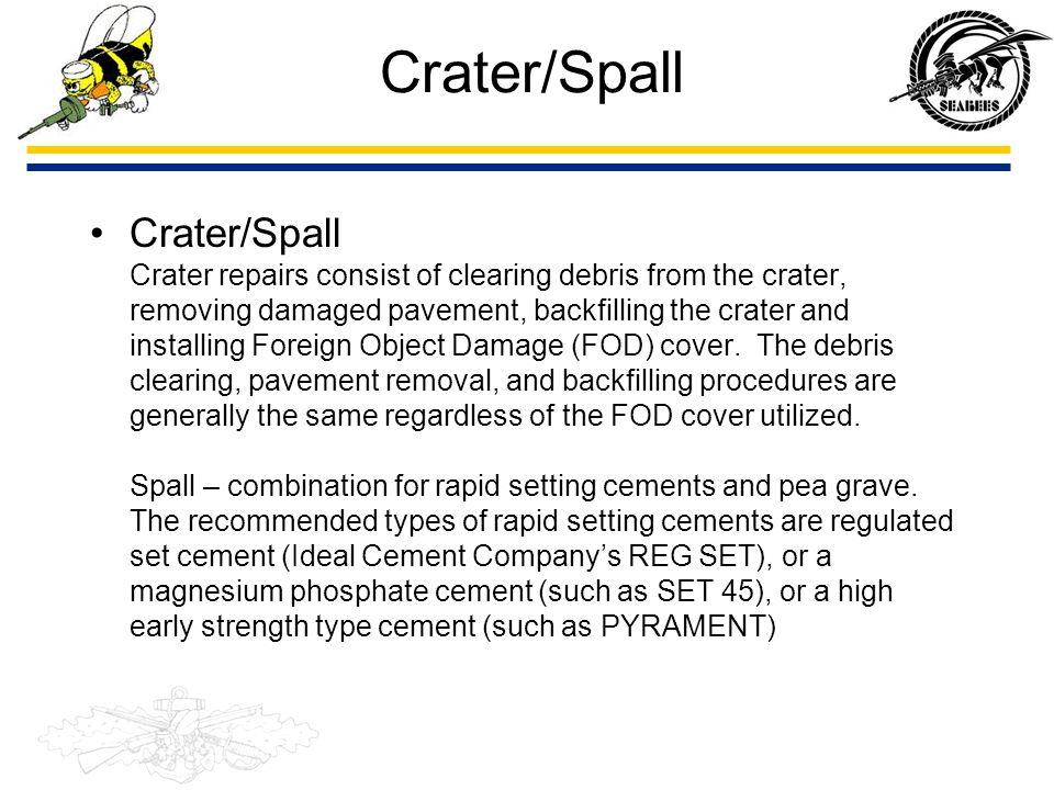 Contingency Operations PQS Question 107.2 Describe the following methods of RRR/ADR: - Folded Fiberglass Matting (FFM) - AM-2 aluminum matting - Crushed stone repair - Crete mobile - Pave Mend