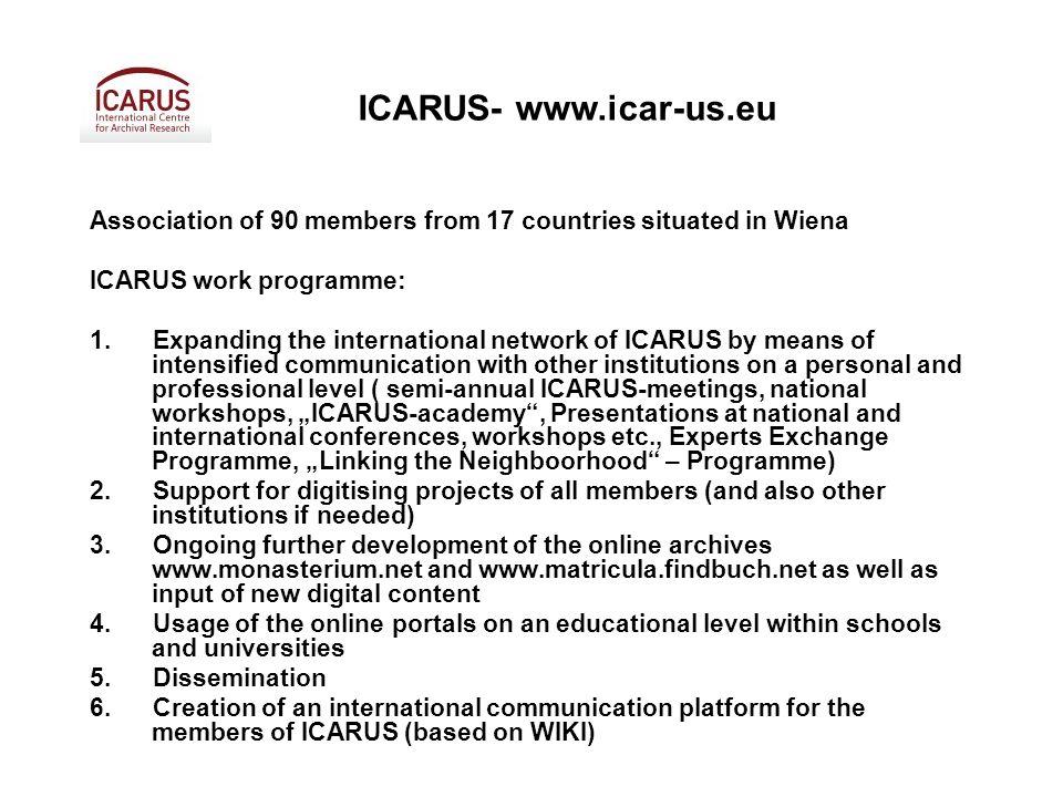 ICARUS-meeting and workshops