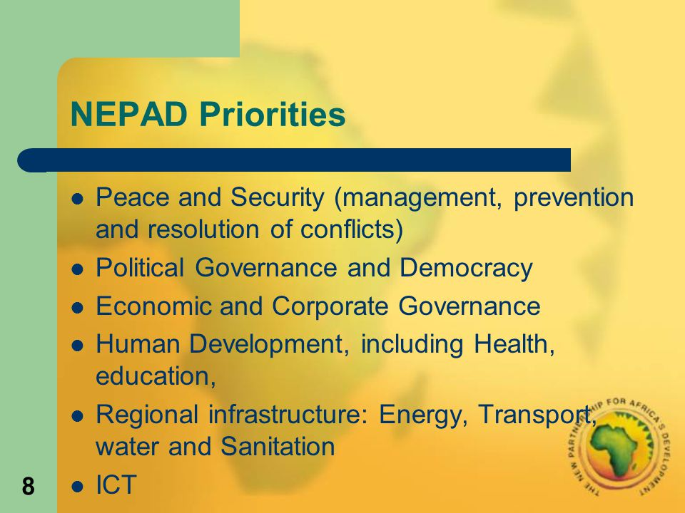 29 Examples of achievements in Sectoral Priorities: Infrastructure.