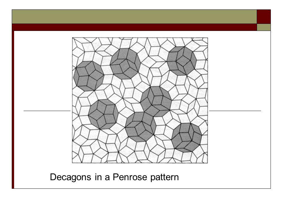A tiling of rhombs