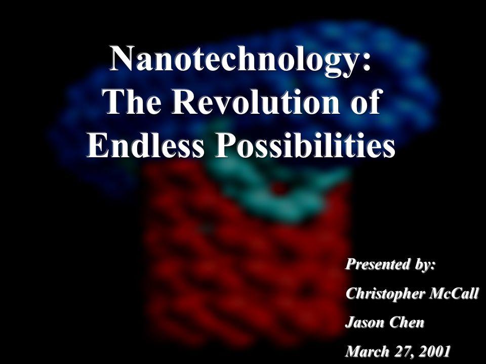 Who's Doing Nanotechnology.