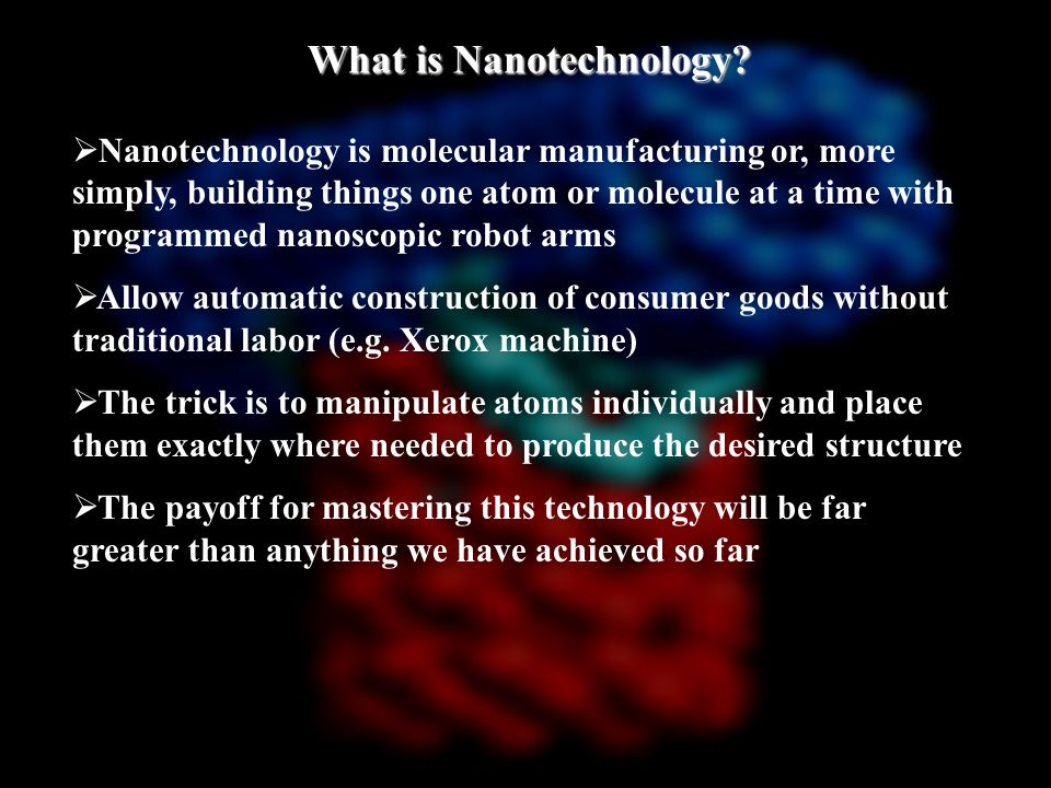 How Do I Get a Degree in Nanotechnology.