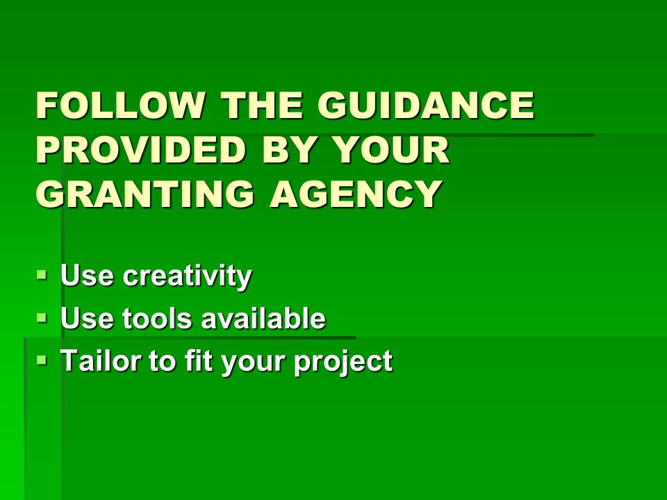 TARGET SEVERAL AUDIENCES  Very local - your own department  Local - your own college or university  State  Regional  National  International  Specific audiences identified by the funding agency