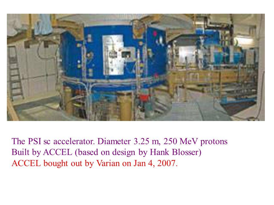 The PSI sc accelerator.