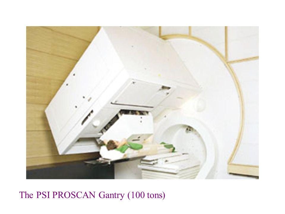 The PSI PROSCAN Gantry (100 tons)