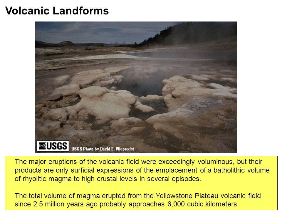 The major eruptions of the volcanic field were exceedingly voluminous, but their products are only surficial expressions of the emplacement of a batho