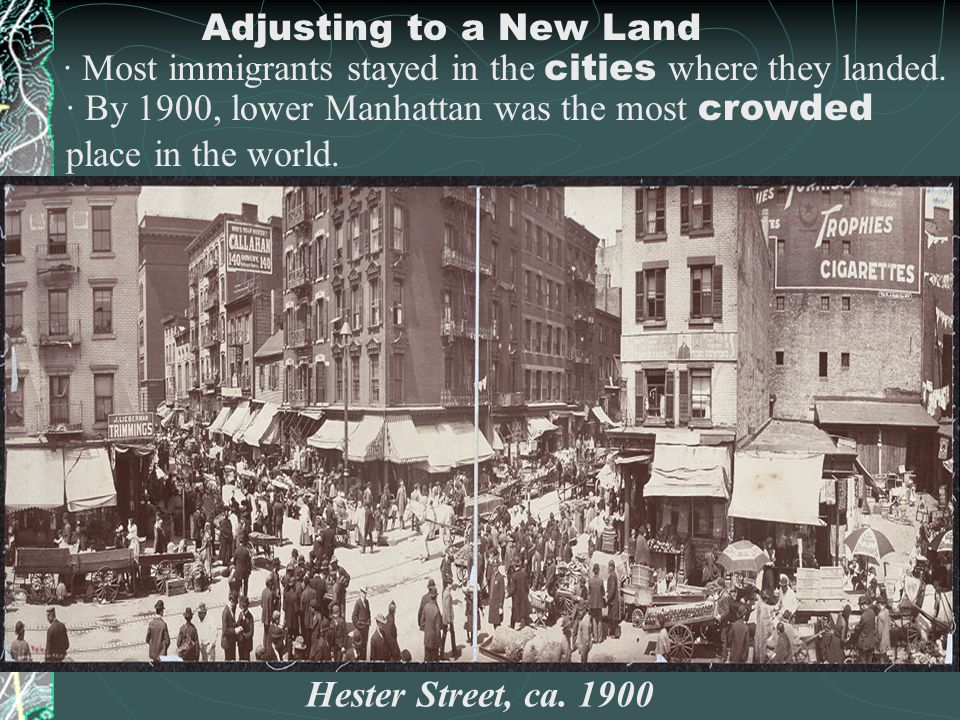 """D. Adjusting to a New Land Reality differed from expectations: """"1 st, the streets were not paved w/ gold. 2 nd, the streets were not paved at all. 3 r"""