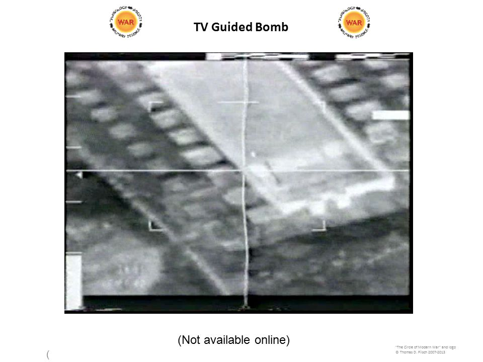 TV Guided Bomb The Circle of Modern War and logo © Thomas D.