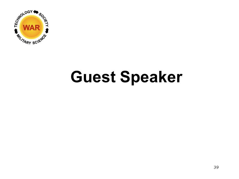 Guest Speaker 39