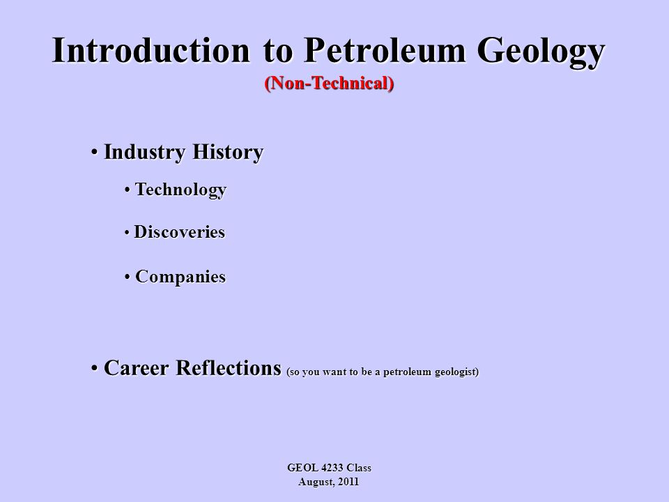 A History of Petroleum Ancient: Egypt: oil to preserve mummies Egypt: oil to preserve mummies China: natural gas for fuel China: natural gas for fuel Babylonia: oil to seal walls and pave streets Babylonia: oil to seal walls and pave streets America: tar to seal canoes America: tar to seal canoes First Drilling: America: using cable tool: to 70' in 1859 America: using cable tool: to 70' in 1859 First Product: Kerosene for lamps (Gasoline an unwanted by-product) Kerosene for lamps (Gasoline an unwanted by-product) Demand: Industrial Revolution Industrial Revolution - Internal Combustion Engine (1885) - Global Economic Growth