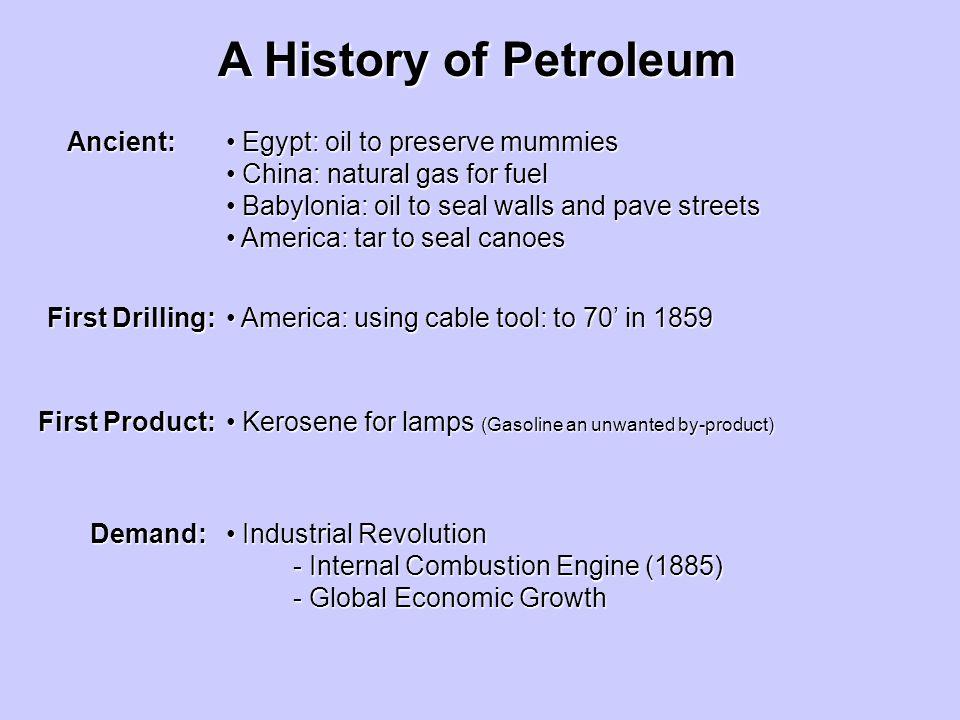 Natural Oil Spills