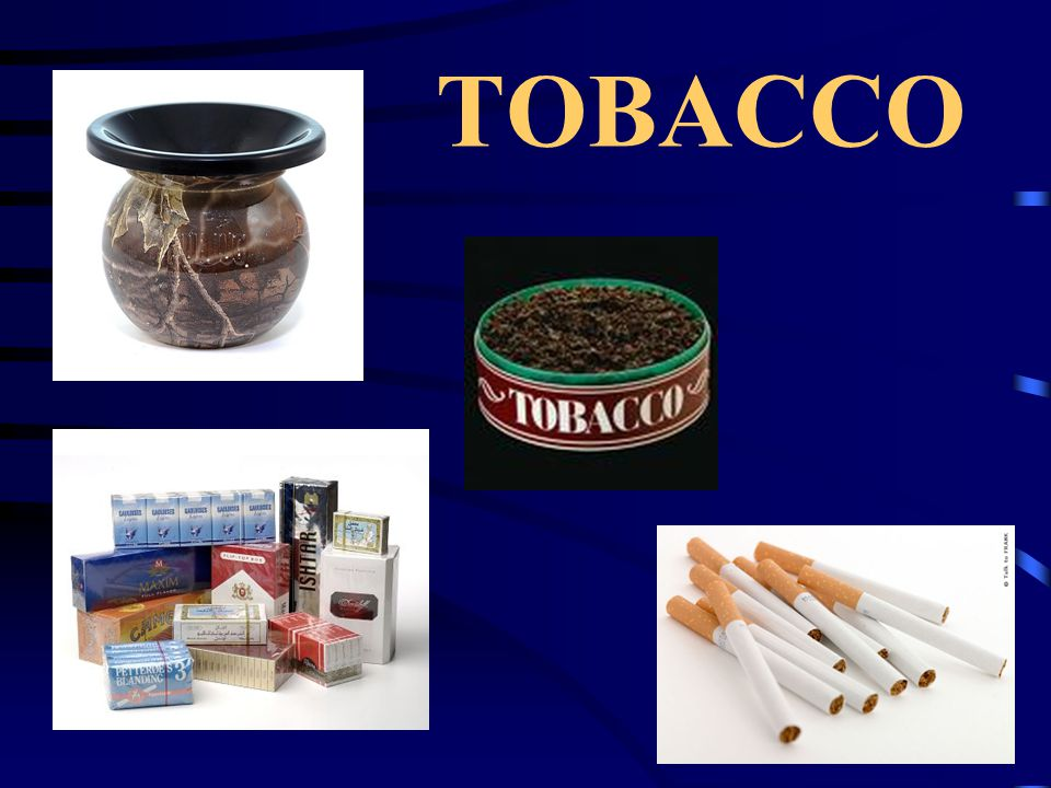 Why people use tobacco Family & friends Misconceptions Advertising Curiosity Rebellion
