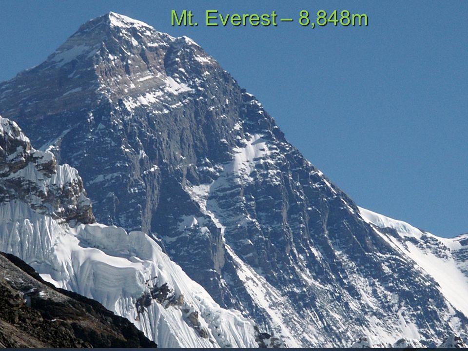Mt. Kanchenjunga – 8,586m