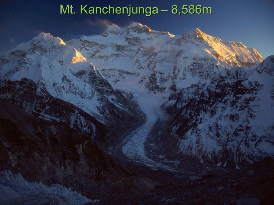 Mt. Lhotse – 8,516m