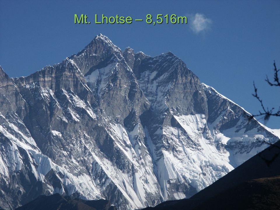 Mt. Makalu – 8,463m