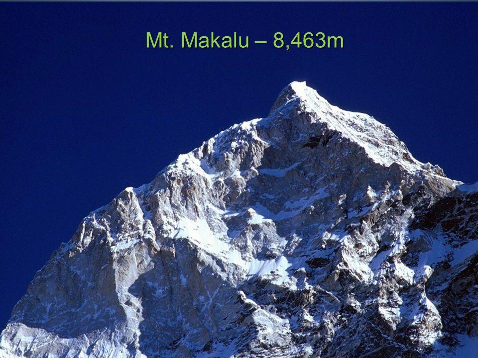 Mt. Cho Oyu – 8,201m