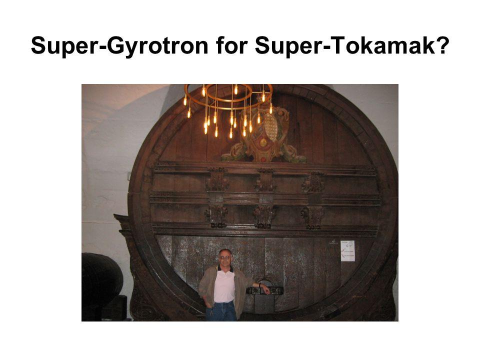 Super-Gyrotron for Super-Tokamak