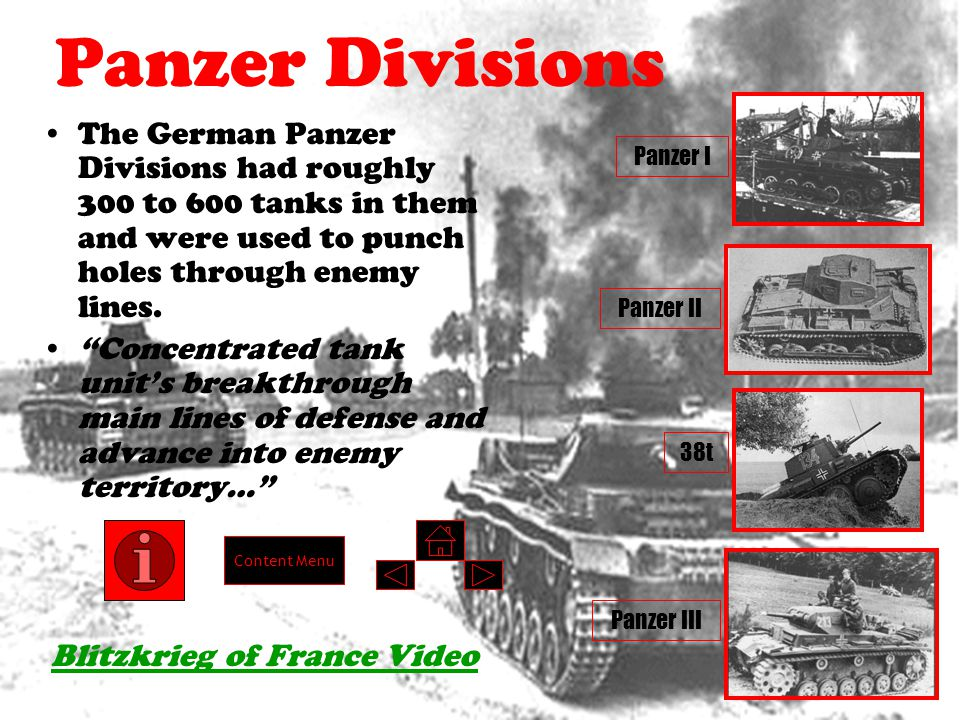 Objectives 1.Summarize Blitzkrieg and how it was used during the Invasion of France.