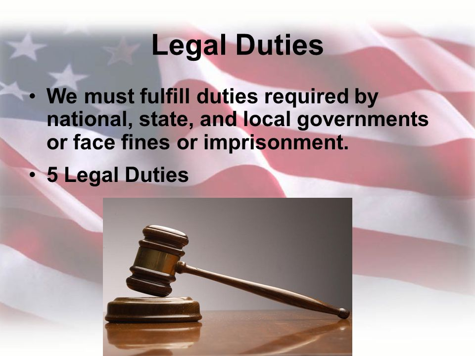 duties and responsibilities of a good citizen