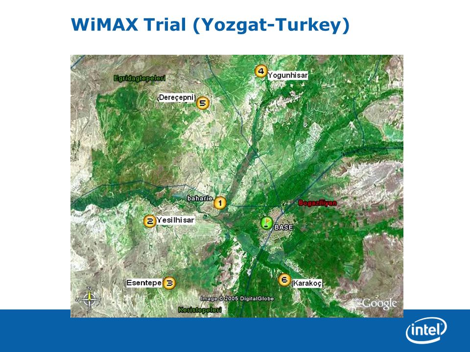 WiMAX Trial (Yozgat-Turkey)