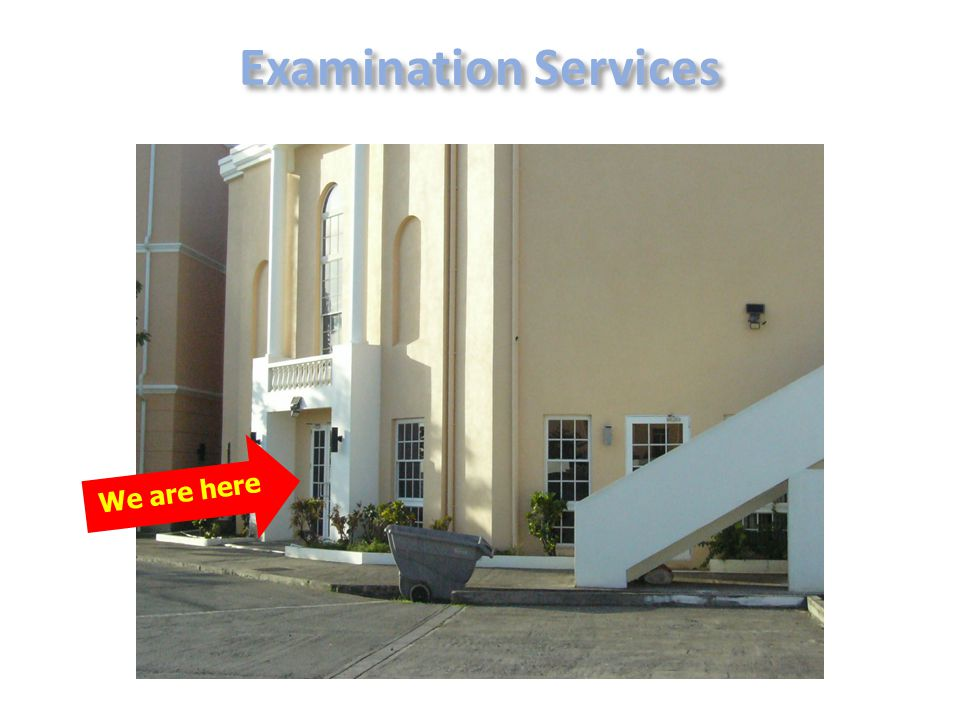 We are here