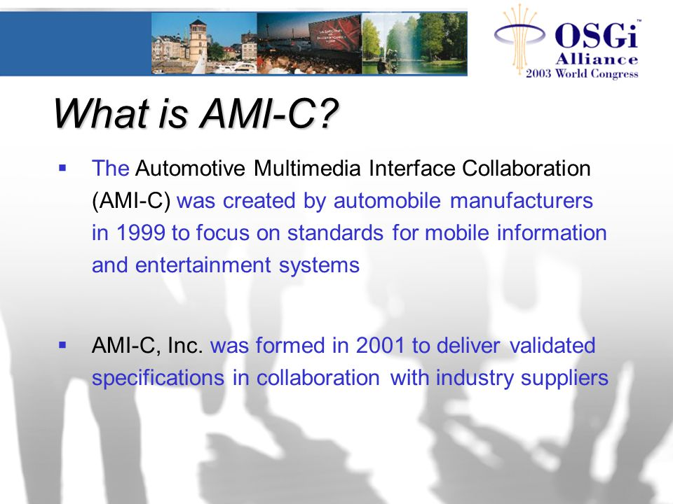 What is AMI-C.