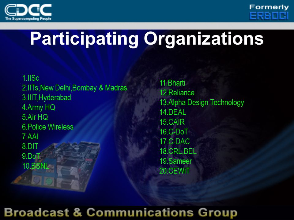 FEATURES OF SDR SDR provides solutions for the legacy system as well as emerging wireless technologies spanning over 2G, 3G and beyond.