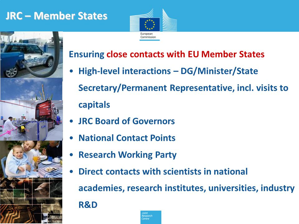 Ensuring close contacts with EU Member States High-level interactions – DG/Minister/State Secretary/Permanent Representative, incl.