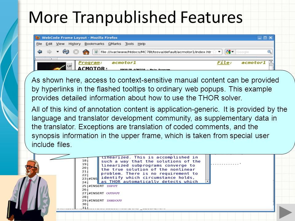 Footnote annotating a variable Footnote annotating HOLDING phrase of FIND template Spiritext Tranpublished Features Navigation mouse over A feature of