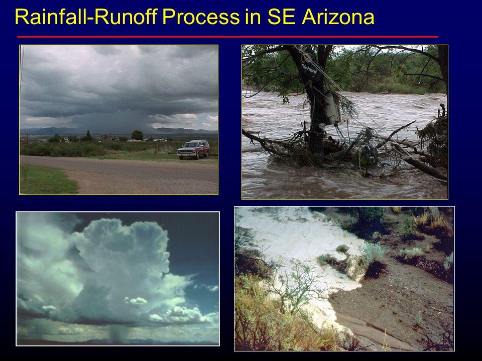 Rainfall-Runoff Process in SE Arizona