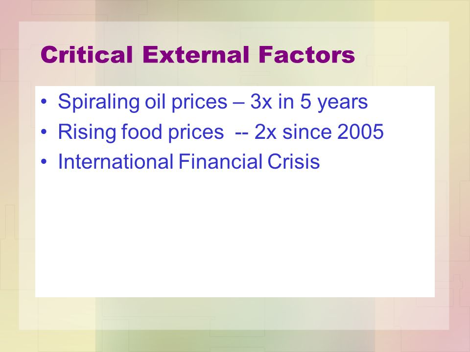 Joseph Stiglitz (2006) Nation-centric financial system is partial and flawed, because it concentrates power at the national level and leaves even the strongest currencies subject to external impacts beyond the control or power of national central banks to regulate.