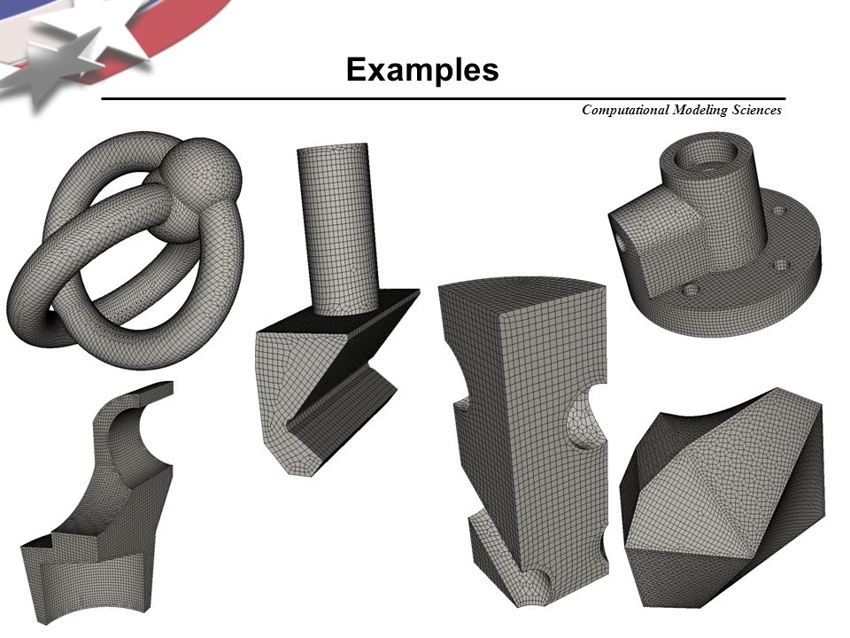 Computational Modeling Sciences jfs Examples