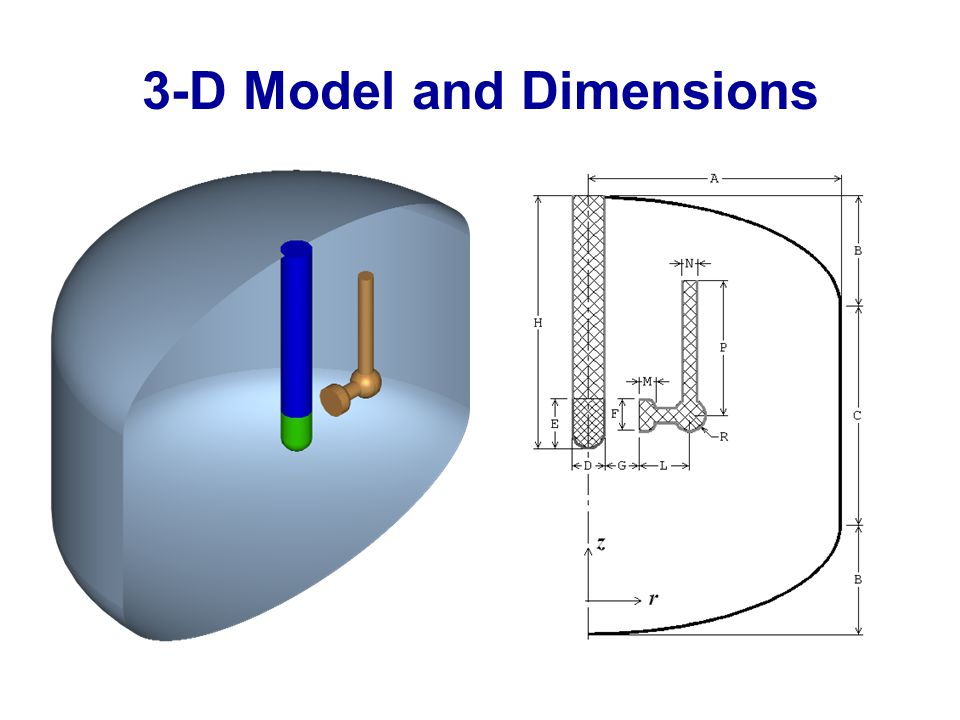 3-D Model and Dimensions