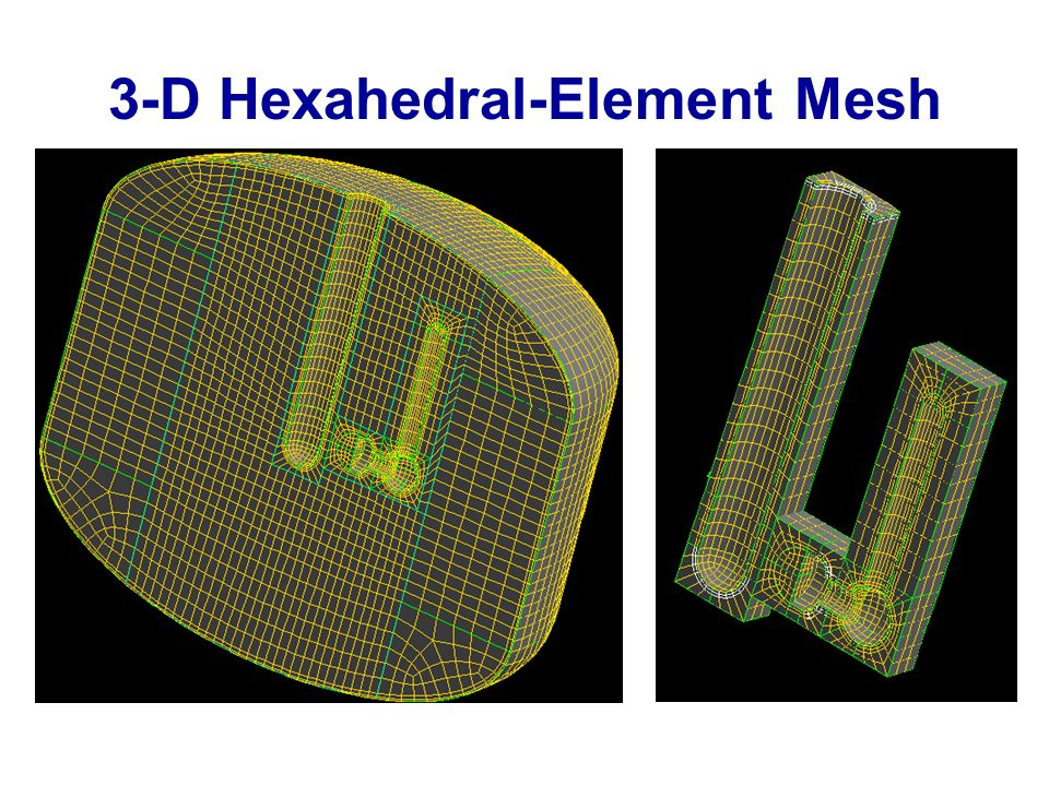 3-D Hexahedral-Element Mesh