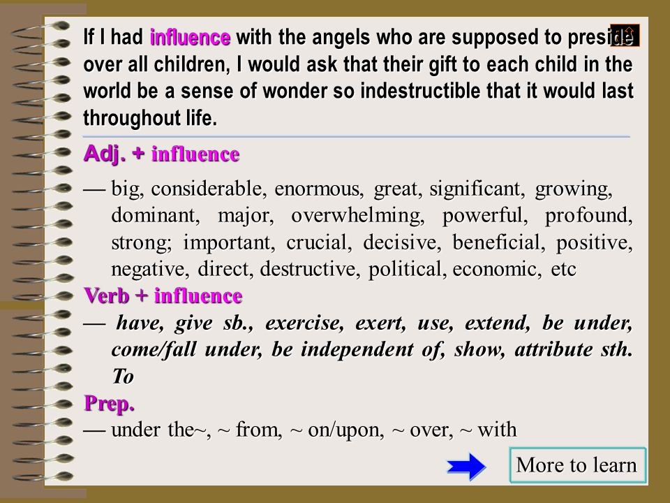 If I had influence with the angels who are supposed to preside over all children, I would ask that their gift to each child in the world be a sense of