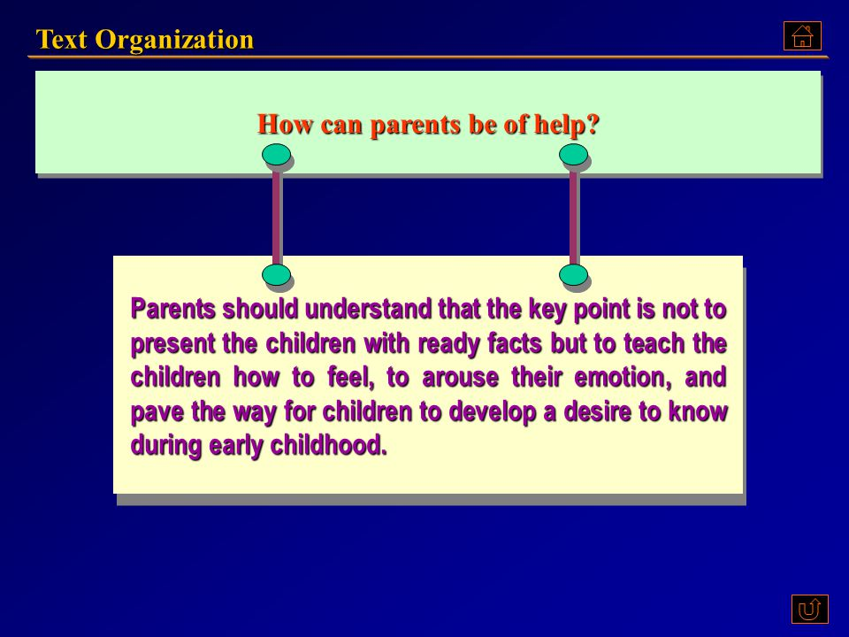 Who can be of help? Children need an adult who can rediscover with them the joy, excitement and mystery of the world we live in. But parents often fee