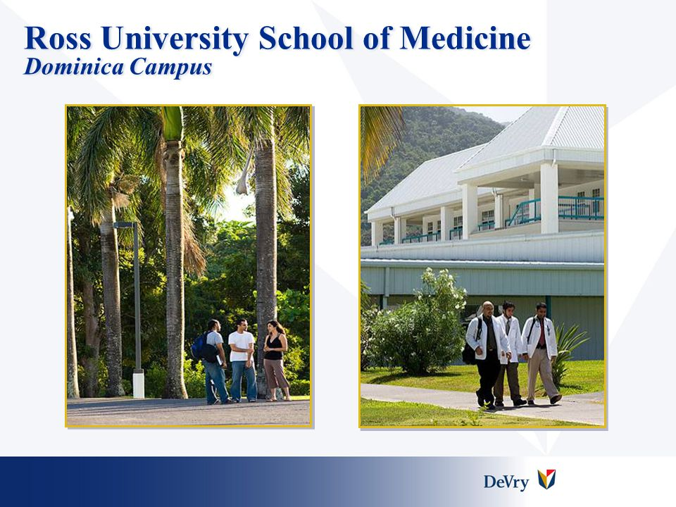 Ross University Key Competitive Advantages  High quality academic programs  Solid market fundamentals  Good operating margins  Strategy and future vision  High quality academic programs  Solid market fundamentals  Good operating margins  Strategy and future vision
