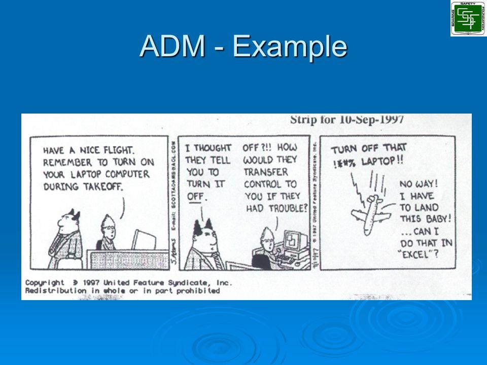 ADM - Example