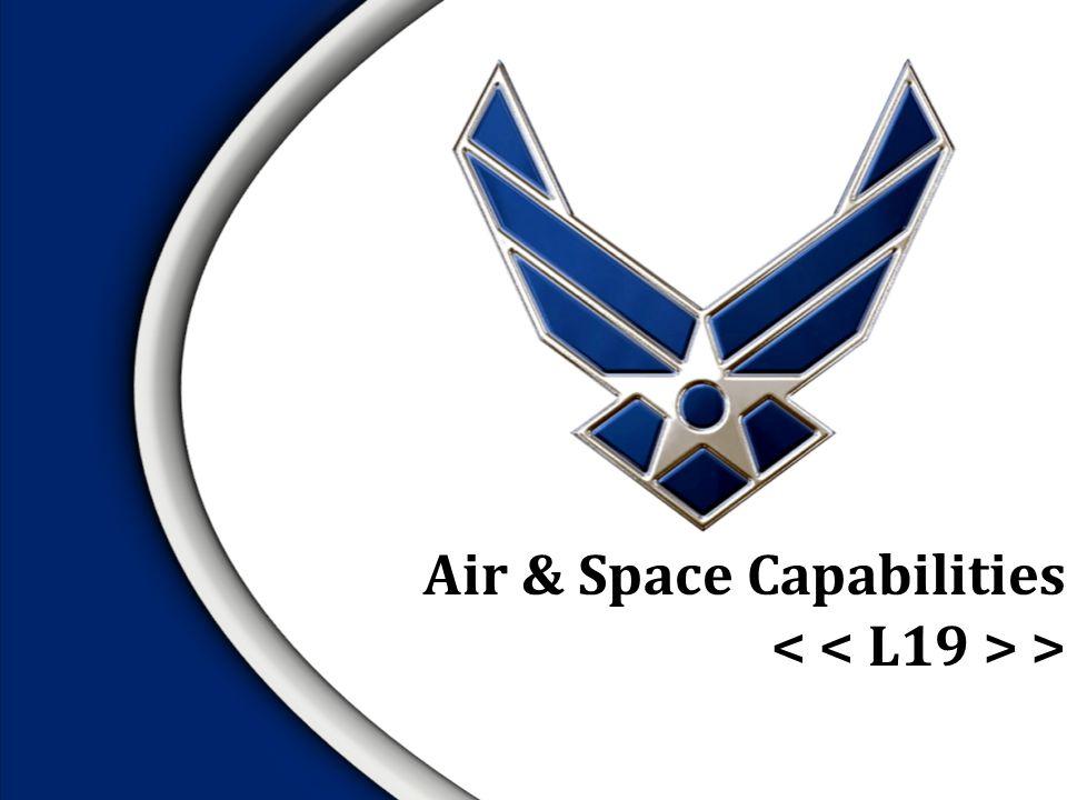 Air & Space Capabilities >