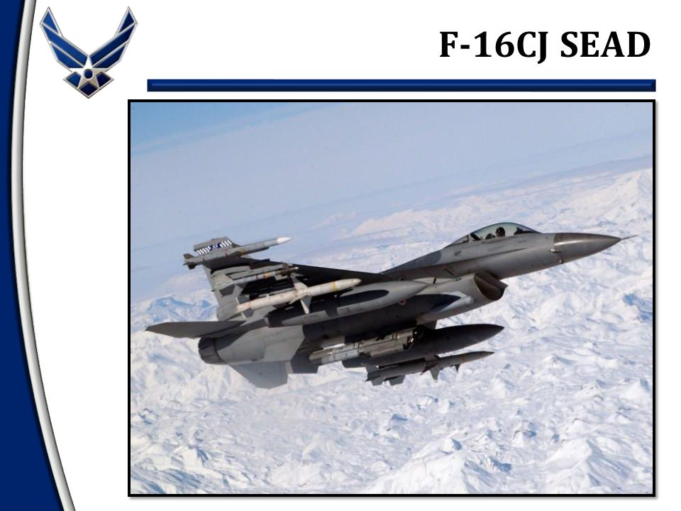 F-16CJ SEAD
