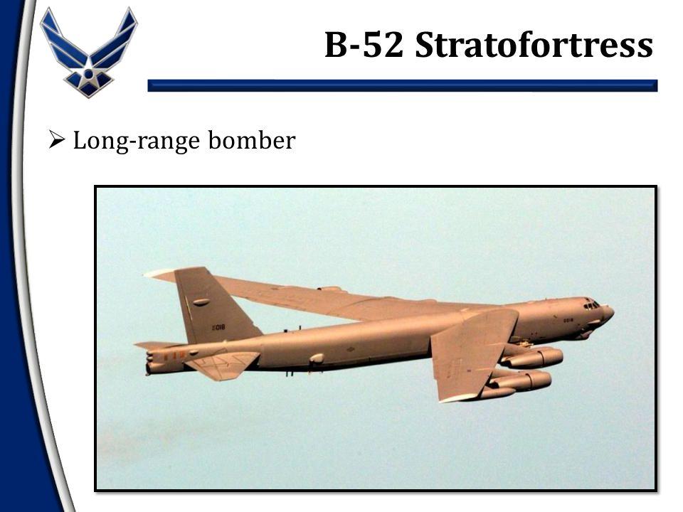  Long-range bomber B-52 Stratofortress